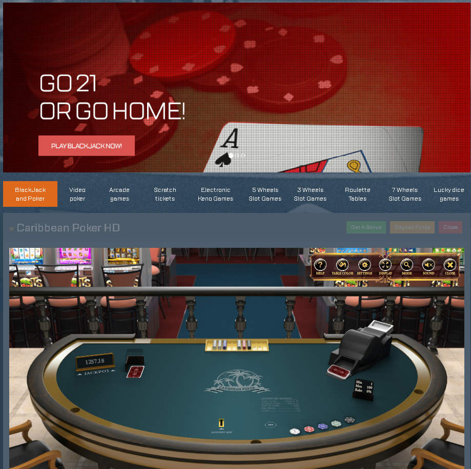 Casino software and services